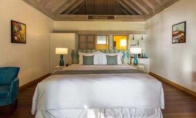 Amaya Kuda Rah Beach Suite Bedroom Area | South Ari Atoll, Maldives