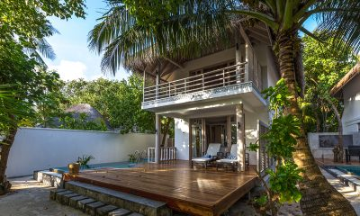 Amaya Kuda Rah Family Duplex Beach Villa Exterior | South Ari Atoll, Maldives