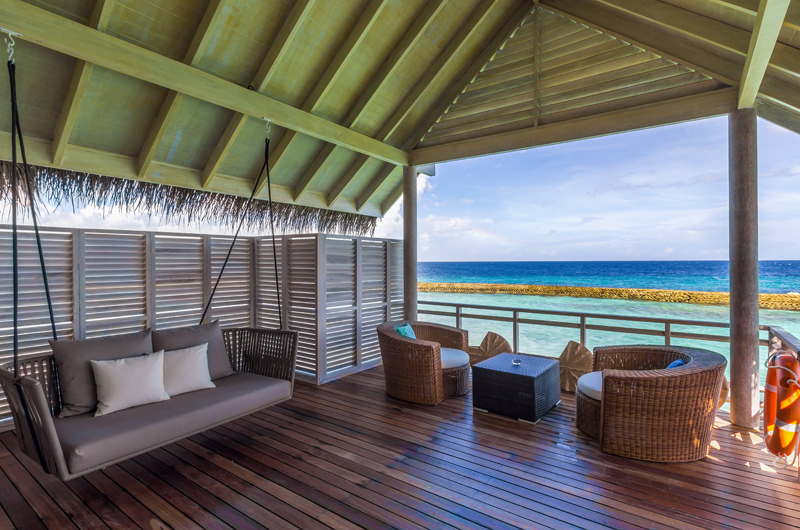 Amaya Kuda Rah Presidential Suite Lounge with Ocean View | South Ari Atoll, Maldives
