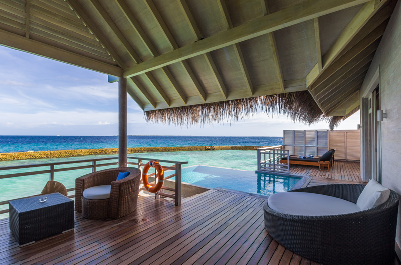 Amaya Kuda Rah Presidential Suite Lounge | South Ari Atoll, Maldives