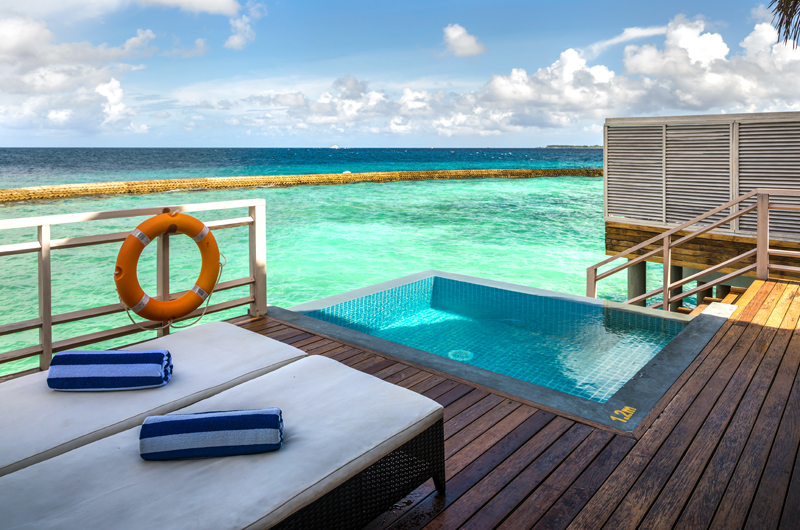 Amaya Kuda Rah Water Villa Sun Deck | South Ari Atoll, Maldives