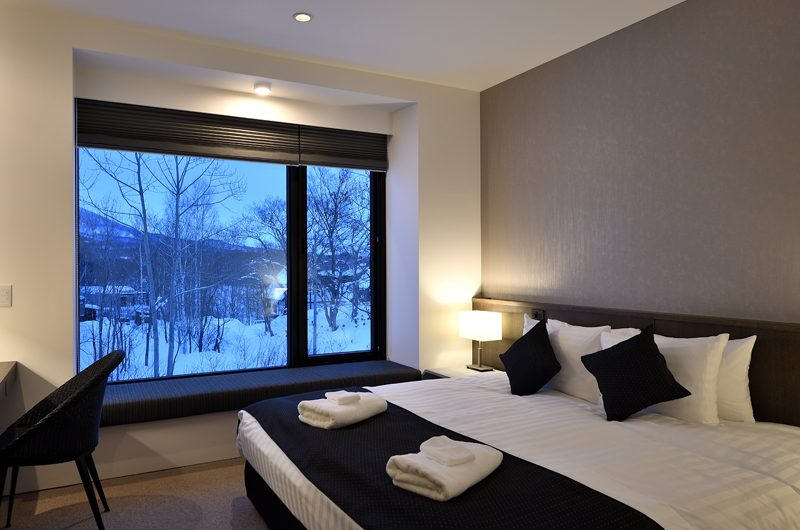 Jun Bedroom with Views | Hirafu, Niseko