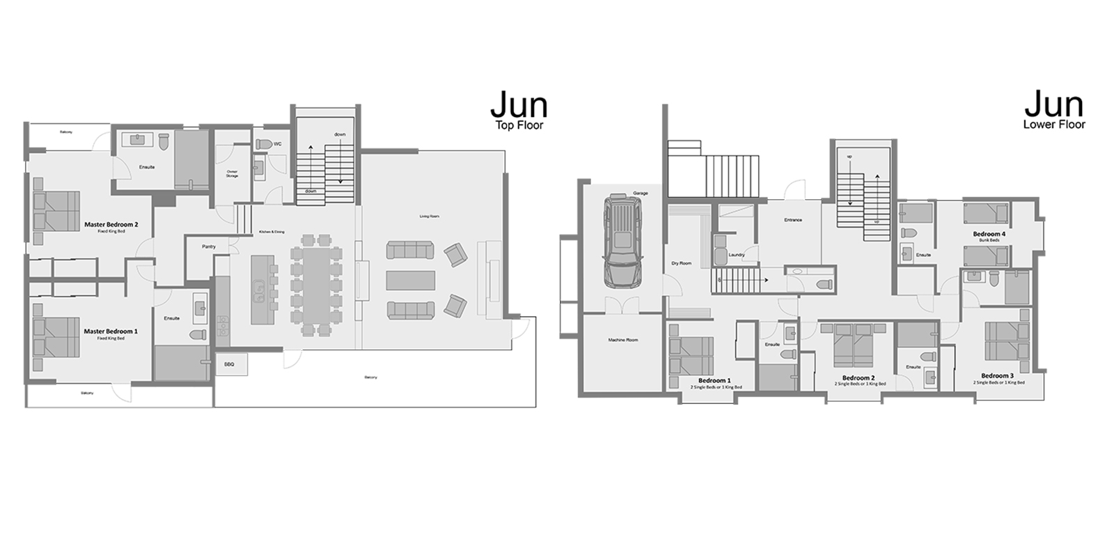 Jun Floorplan | Hirafu, Niseko