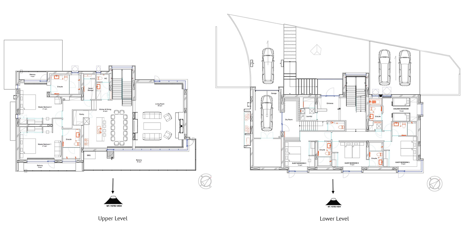Jun Floor Plan | Hirafu, Niseko