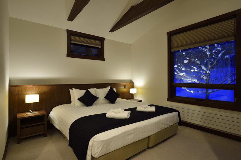 Kokoro Bedroom with Lamps | Hirafu, Niseko