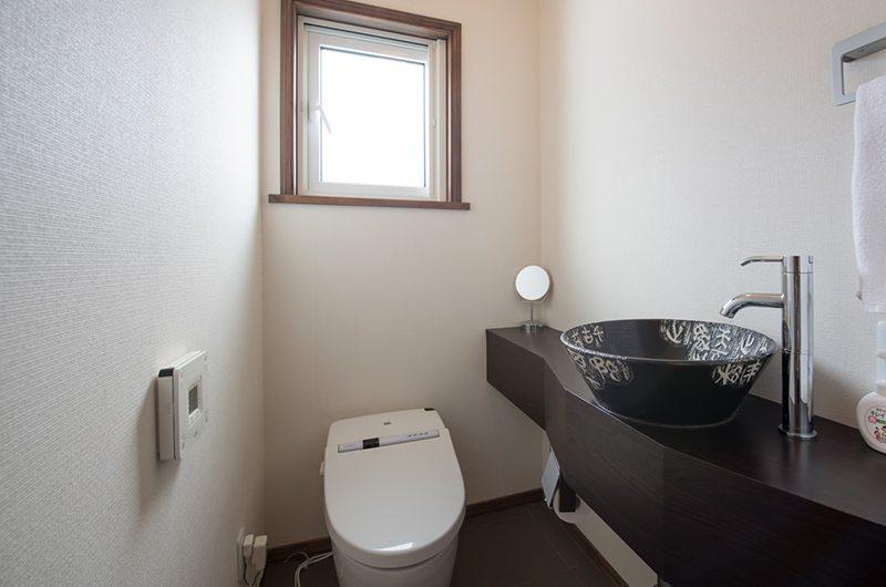 Moiwa Chalet Bathroom Area   Hirafu, Niseko