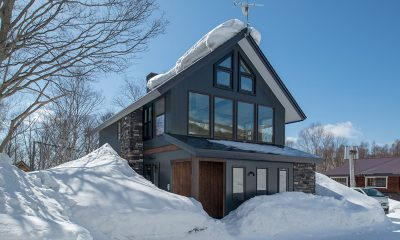 Moiwa Chalet Building Area in Snow | Hirafu, Niseko