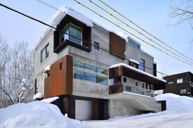 Mukashi Mukashi Building   Hirafu, NIseko