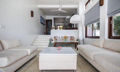 Skinny Beach House Living Room | Talpe, Sri Lanka