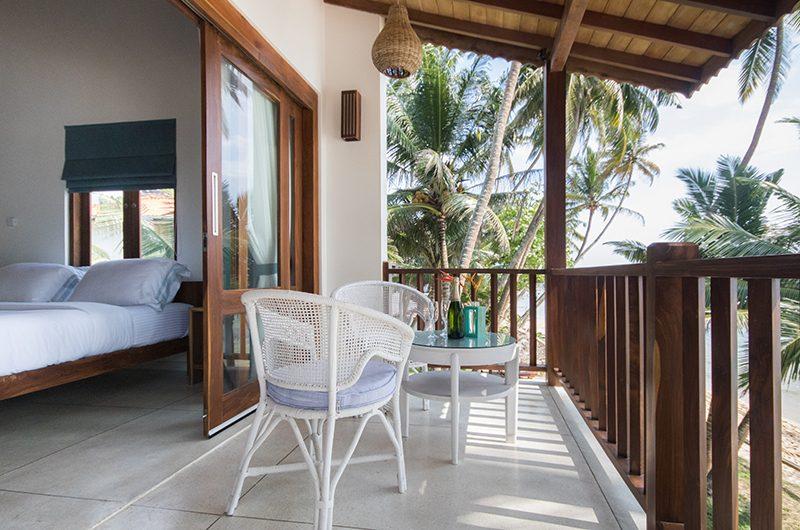 Skinny Beach House Balcony | Talpe, Sri Lanka
