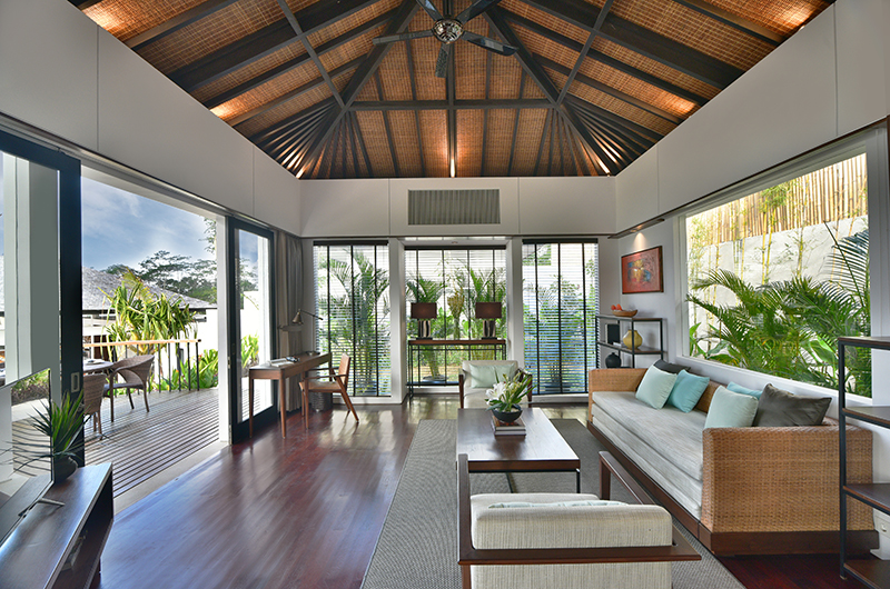 Alta Vista Master Villa Living Room   North Bali, Bali