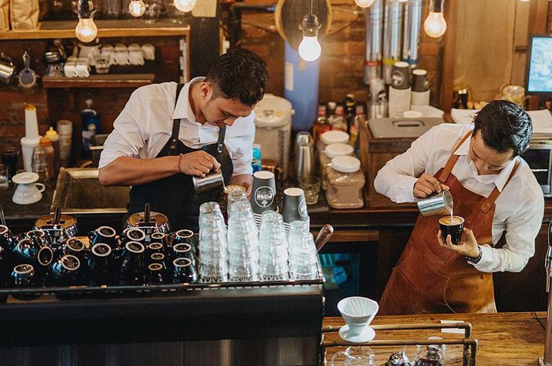 Bali Seminyak Pison Coffee