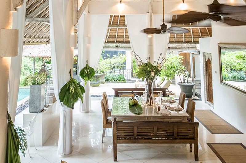 Villa Sungai Bali Dining Area   Tabanan, Bali