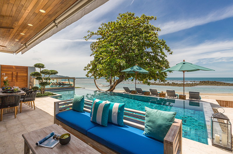 Villa Suma Outdoor Seating | Koh Samui, Thailand