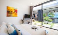 Villa Suma Bedroom with Living Area Views | Koh Samui, Thailand