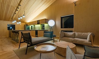 Foxwood Living and Dining Area | Hirafu, Niseko