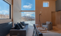 Foxwood Living Area with Views | Hirafu, Niseko
