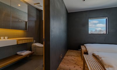 Foxwood Bedroom with Bathroom | Hirafu, Niseko