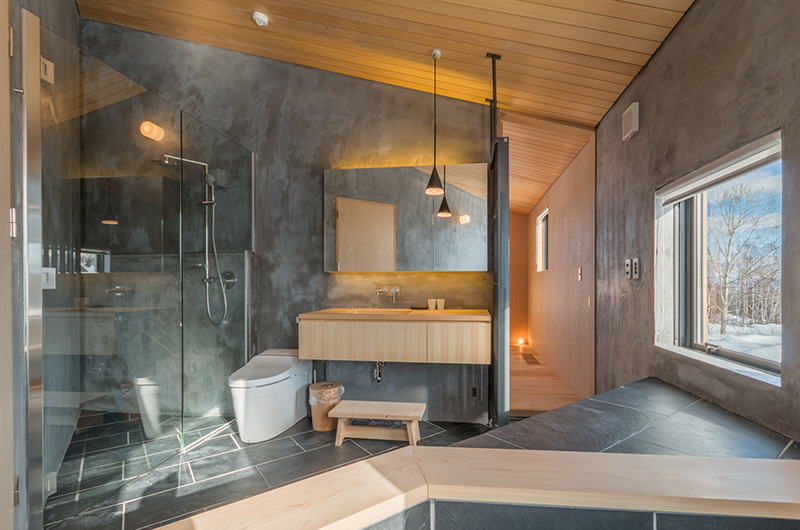 Foxwood Bathroom | Hirafu, Niseko