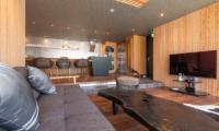 Hideaway on Escarpment Living Room with TV | Hirafu, Niseko