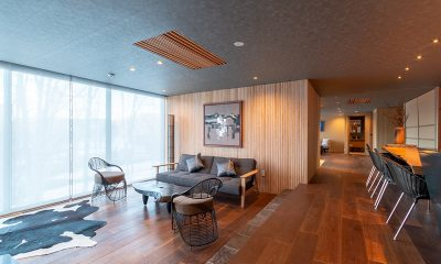 Hideaway on Escarpment Living and Dining Area | Hirafu, Niseko