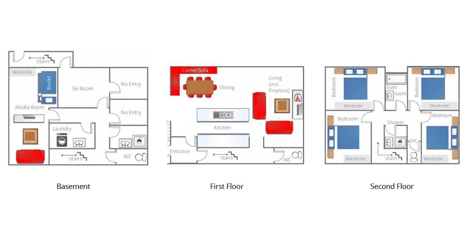 Itoku Floor Plan | Hirafu, Niseko