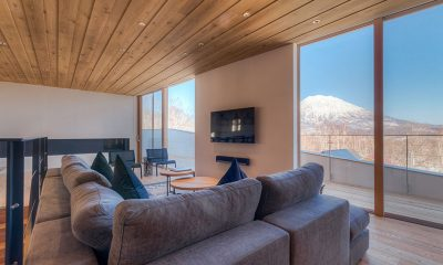 Silver Dream Living Room | Hirafu, Niseko