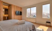 Silver Dream Bedroom with TV | Hirafu, Niseko