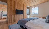 Silver Dream Bedroom Area with TV | Hirafu, Niseko
