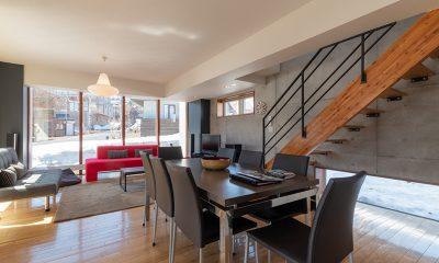 Yuki Ten Living and Dining Area | Hirafu, Niseko