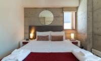 Yuki Ten Bedroom with Lamps | Hirafu, Niseko