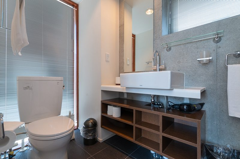 Yuki Ten Bathroom Area | Hirafu, Niseko