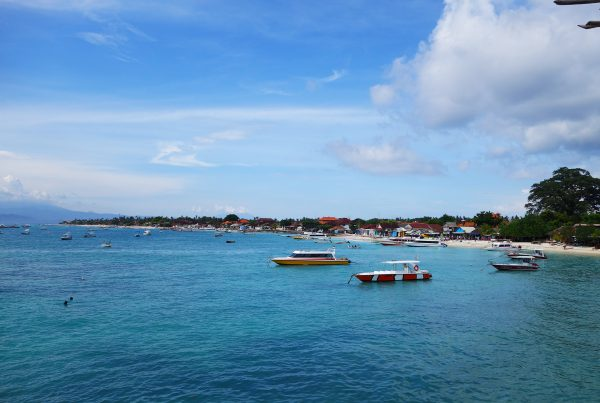 Nusa Lembongan Jungutbatu Port View