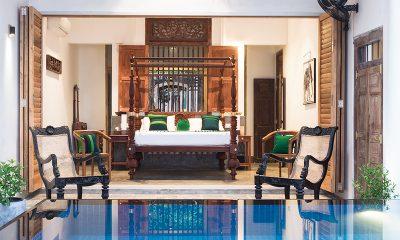 Royal Indigo Villa Bedroom Area with Seating | Talpe, Sri Lanka