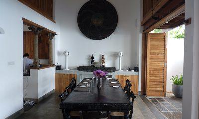 Royal Indigo Villa Dining Table | Talpe, Sri Lanka