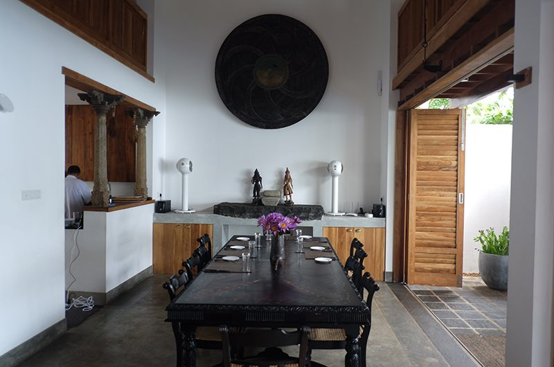 Royal Indigo Villa Dining Table | Talpe, Sri Lanka