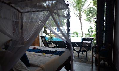Royal Indigo Villa Bedroom Side with Seating | Talpe, Sri Lanka