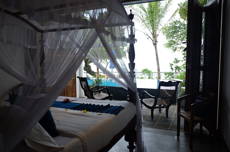 Royal Indigo Villa Bedroom Side with Seating | Talpe, Sri Lanka
