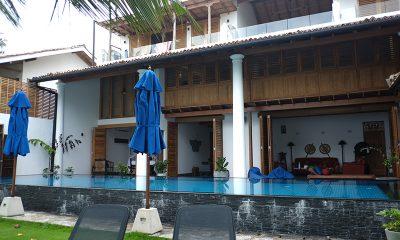 Royal Indigo Villa Swimming Pool Area | Talpe, Sri Lanka