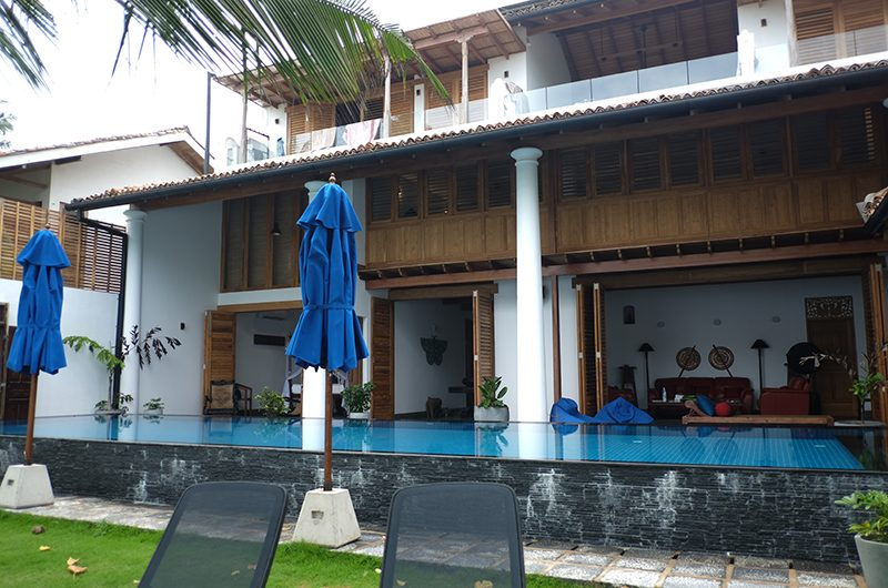 Royal Indigo Villa Swimming Pool Area | Talpe, Sri Lanka
