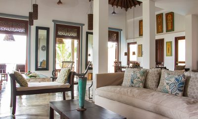 Villa Saldana Living Room | Galle, Sri Lanka