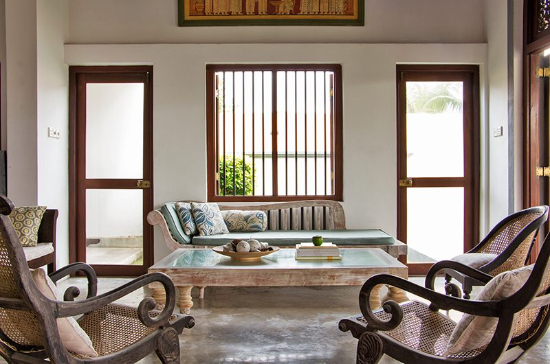 Villa Saldana Living Area | Galle, Sri Lanka