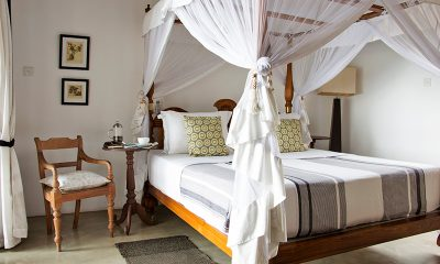 Villa Saldana Master Bedroom with Chair | Galle, Sri Lanka