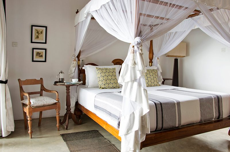 Villa Saldana Master Bedroom with Chair | Galle, Sri Lanka