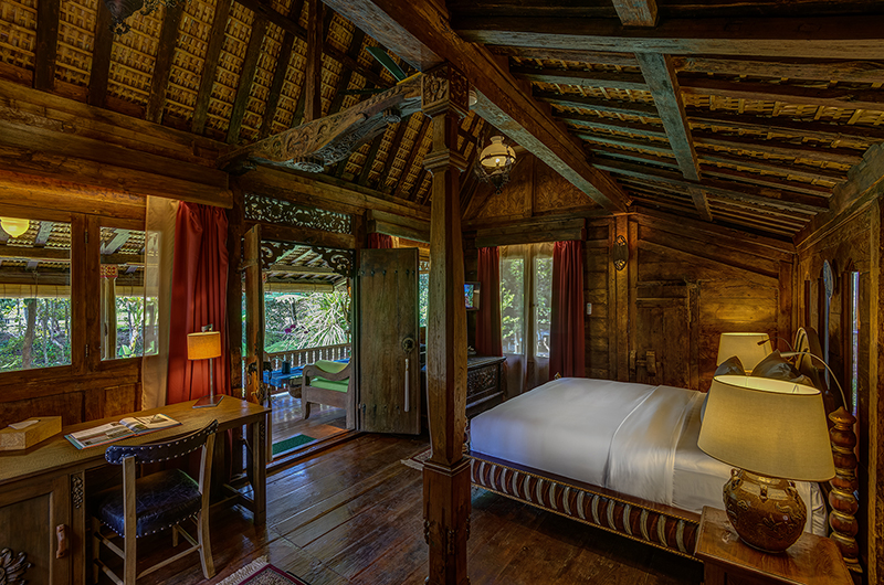Permata Ayung Gladak House Bedroom with Study Table | Ubud, Bali