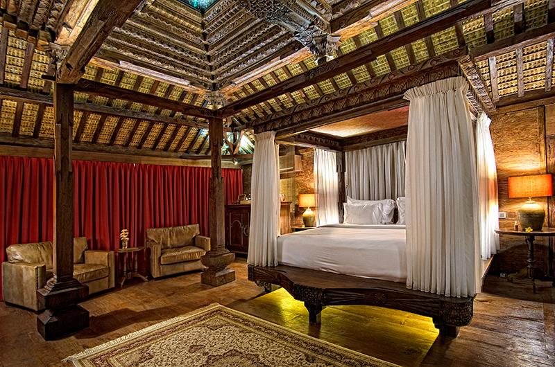 Permata Ayung Kudus Joglo House Bedroom Area | Ubud, Bali