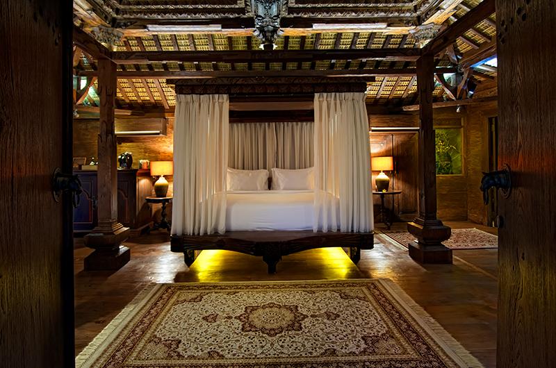 Permata Ayung Kudus Joglo House Bedroom | Ubud, Bali