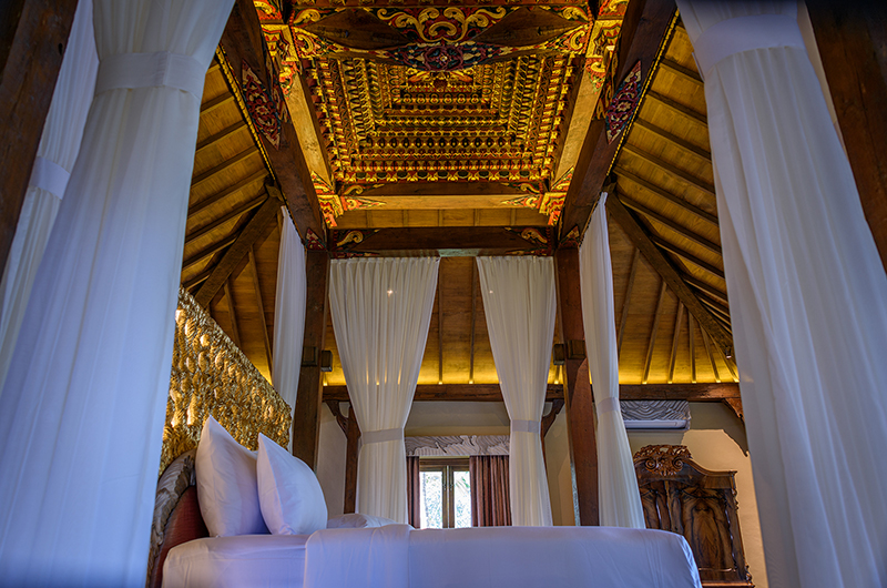 Permata Ayung Permata Bridal Chalet Bedroom with Lamps | Ubud, Bali