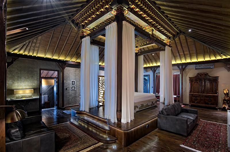 Permata Ayung Permata Bridal Chalet Bedroom with Seating | Ubud, Bali