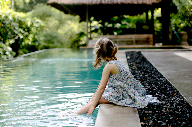 Bali Tabanan Villa Sungai Kids
